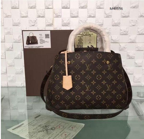2020 candy bag replica montaigne bb real leather shoulder bags lady fashion handbag fashion purse women bag for dinner m40156 (553536105) photo