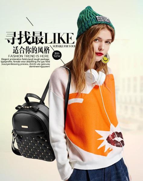 bags women bags 2018 women backpack mini backpack purse travel (527810155) photo