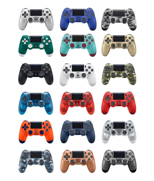 15 color bluetooth wirele p 4 controller for p 4 vibration joy tick gamepad p 4 game controller for ony play tation without retail box