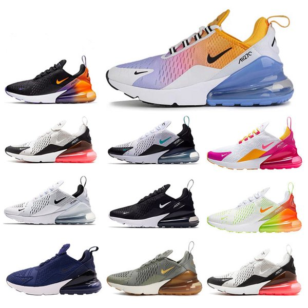 Mens Women 270 Running Shoes Max Outdoor Sports 270s Black white maxes 2019 Casual Trainers Sneakers