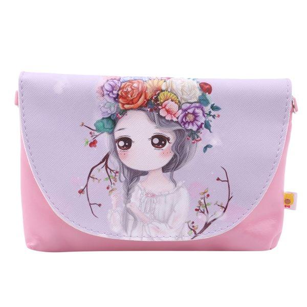2020 girl coin purse handbag children small zero wallet bag cute flower girl kid money bag baby shoulder purses change (545766193) photo