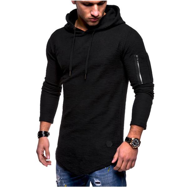 Мода с капюшоном мужчины куртка причинно пальто осень и зима жаккардовые шею с ка