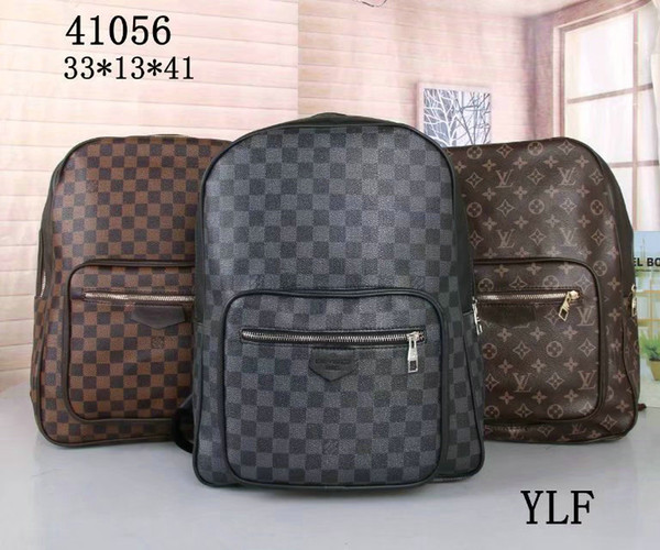 2019 fashion famous men's and women's bags school bag PU leather backpack ladies travel bag backpack laptop bag #41056