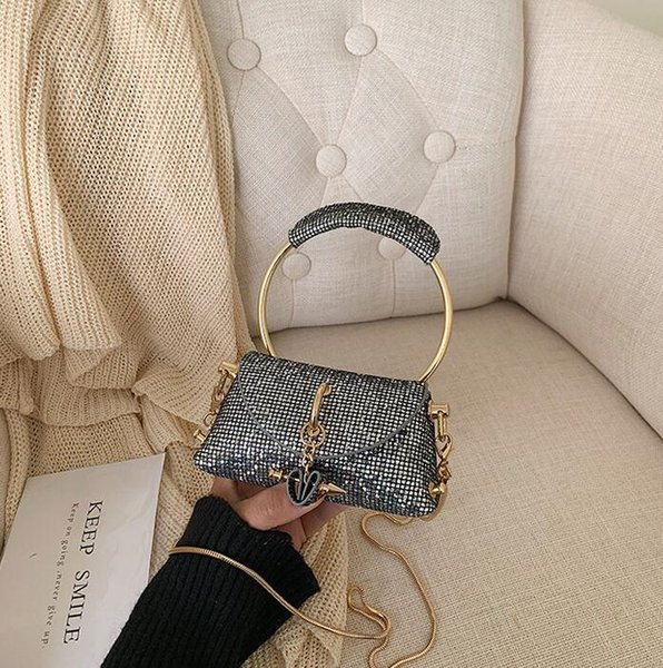 designer luxury handbags purses ladies sequins chian shoulder bags mini crossbody bags new style wholesale girl dating bag (541745966) photo