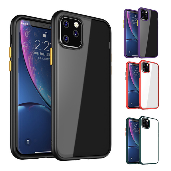 Clear phone ca e for iphone 11 x  max xr x 8 plu   am ung note10 plu   hockproof tran parent  oft tpu hard pc back cover