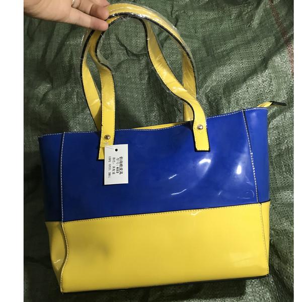 lykanefu large capacity summer handbag women patent leather women handbag handles over shoulder bags ladies purse 2019 (461581346) photo
