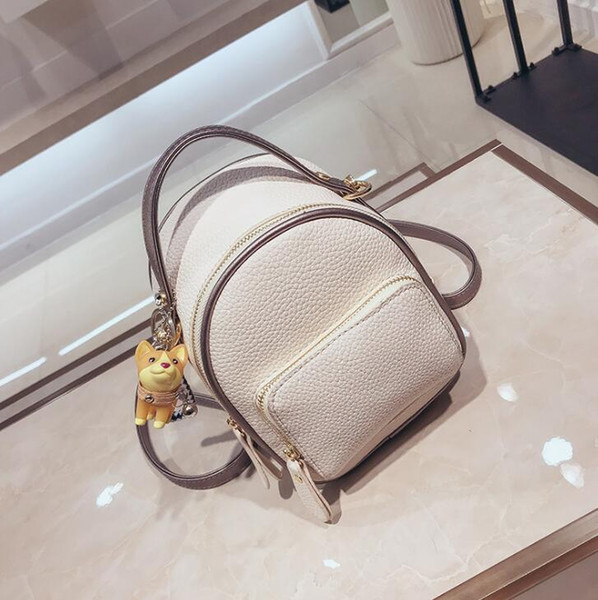 designer luxury handbags purses mini backpack girl schoolbag fashion women shoulder bags student travel backpack (540906837) photo