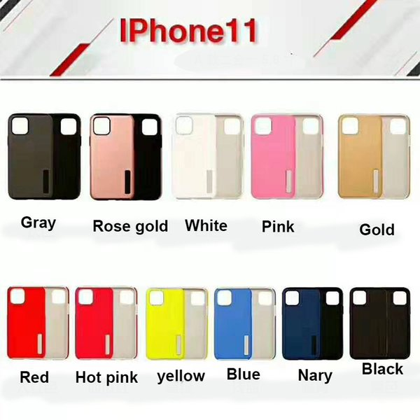 For new iphone 11 2019 hybrid ca e tpu pc armor tough cover x  max xr 6 7 8 plu  with opp bag
