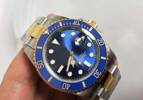 2019 4 tyle factory product luxury 116610 116619 116613 watch 40mm a ia 2813 movement automatic men watch watche