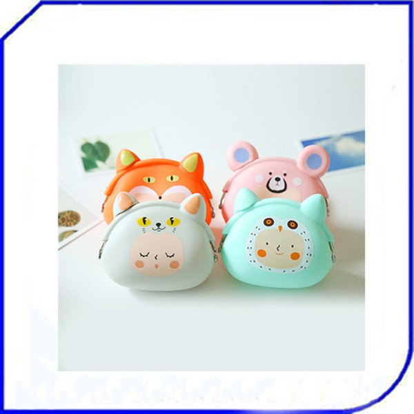 dongguan purse cartoon mini coin purse shoulder bag silicone coin women's (530426686) photo