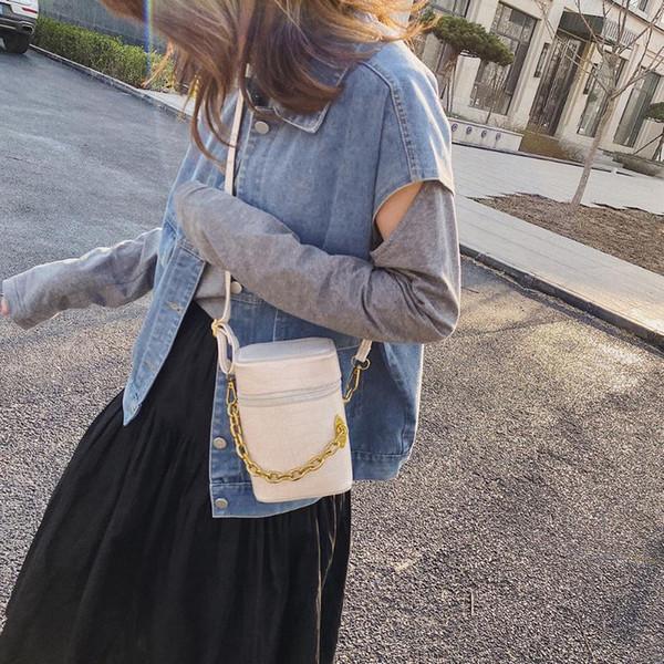 women solid bucket messenger purse retro alligator leather semicircle shoulder bags pu leather crossbody purse (547492743) photo