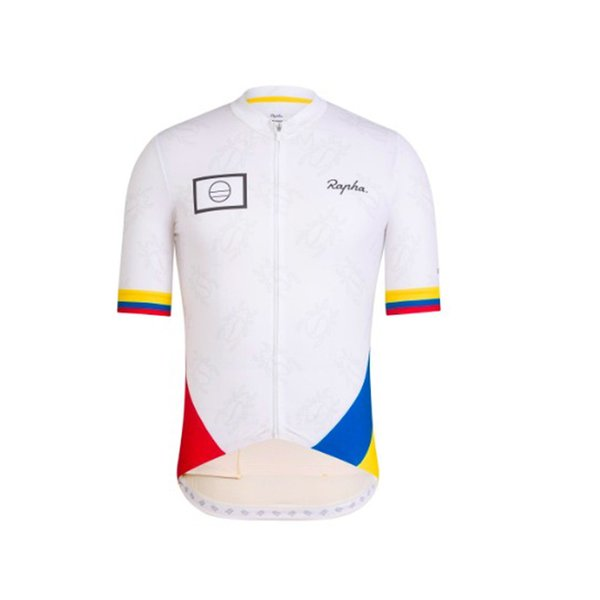 2019 Colombia cycling jersey / summer top tailoring breathable short-sleeved bike clothing / racing mountain MTB bicycle jersey