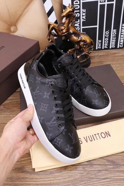 2019 новое поступление роскошные мужские туфли черный белый натуральная кожа на шн