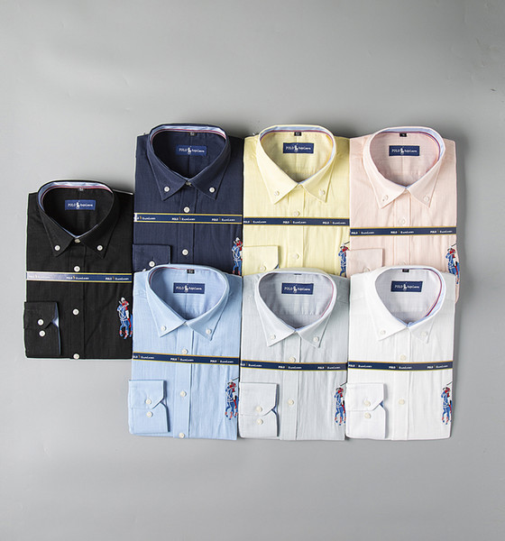 Luxury mens designer long sleeve shirts firmate business dress shirts fashion casual brand shirt print slim shirt homme button up 182 фото