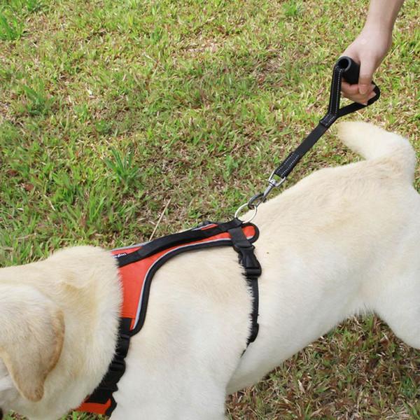 Наружные Собаки Жгуты Короткий Поводок Для Собак С Удобной Мягкой Ручкой Светоот