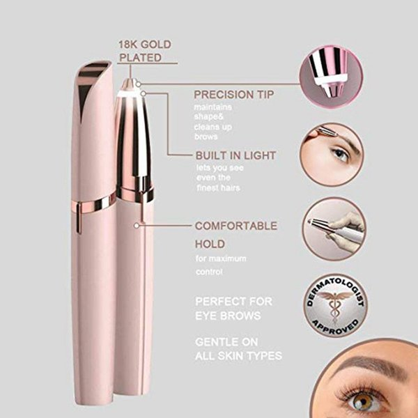 Dropshipping Electric shaver-for women Electric eyebrow tool Electric trim eyebrow instrument Eyebrow trimming device shaver Hair removal