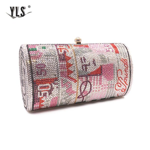 handmade- fashion half round style us dollar bag cocktail dinner handbags party purses (535289095) photo