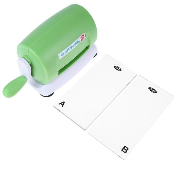 diy plastic craft scrapbook cutter paper cutting embossing machine (484938008) photo
