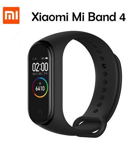 Оригинальный Xiaomi mi Band 4 Bluetooth smart bracelet 5.0 Heart Rate Fitness 0.95-дюймовый AMOLED-дисплей Xiaomi band 4