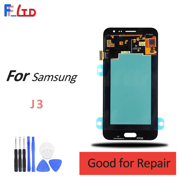 Original for  am ung galaxy j3 2016 j320 j320f j320h j320m j320fn lcd di play digitizer a  embly replacement 100  te ted