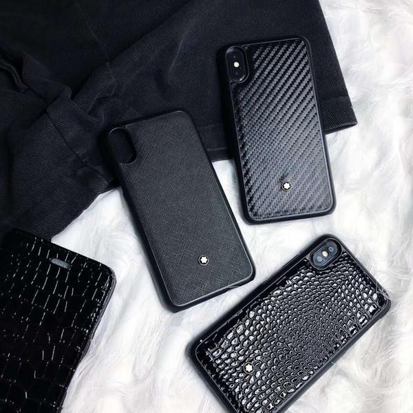 Новый Высокий уровень Роскошная Известный шаблон телефона чехол для iPhone X XS Max XR 6 6 фото