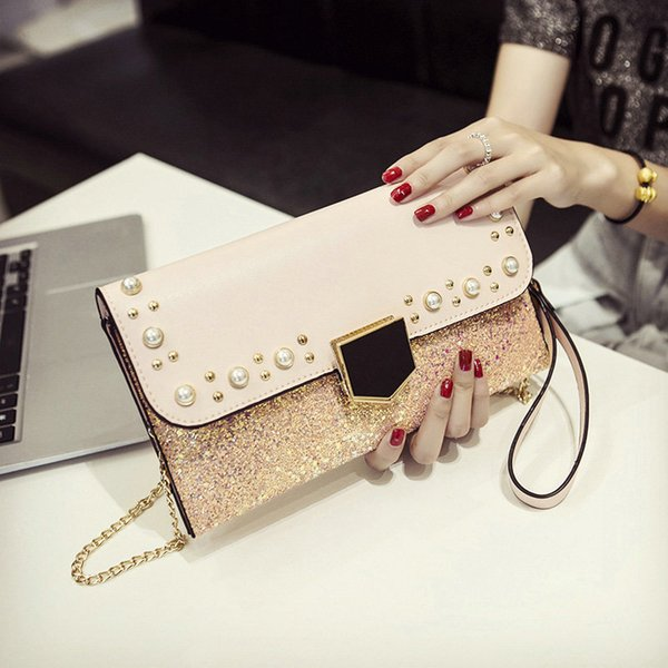 qiaobao evening clutch bags for 2020 women bag rhinestone evening crystal women clutch new crystal lady purses and handbags (522945193) photo