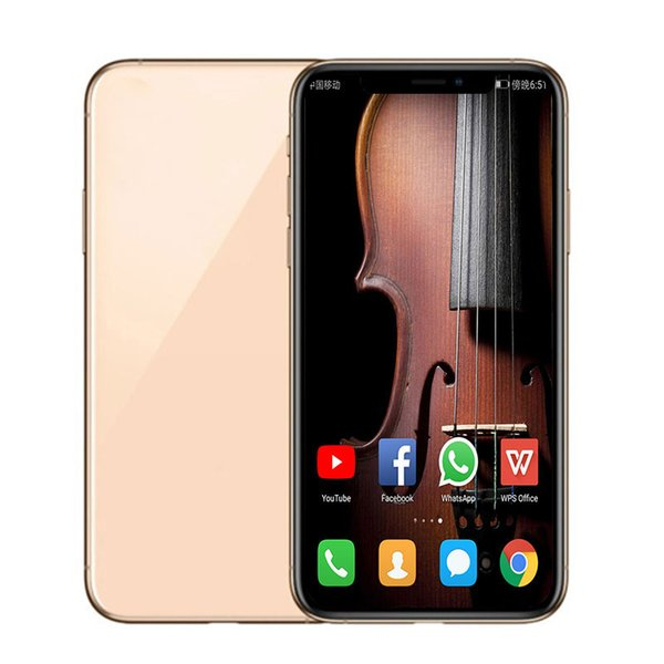 Unlocked goophone x  max 6 5inch 1 16g android  martphone with face id quad core mtk6580 3g wcdm wirele   charging  how 256g 4glte