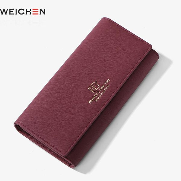 weichen wallet women long clasp women purse ladies phone wallet clutch large capacity girl purse card holders (482821692) photo