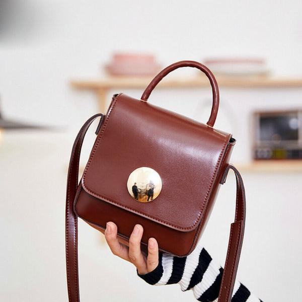 new pretty women bag purse messenger shoulder bag tote pu satchel lovely flap crossbody high quality (487362875) photo