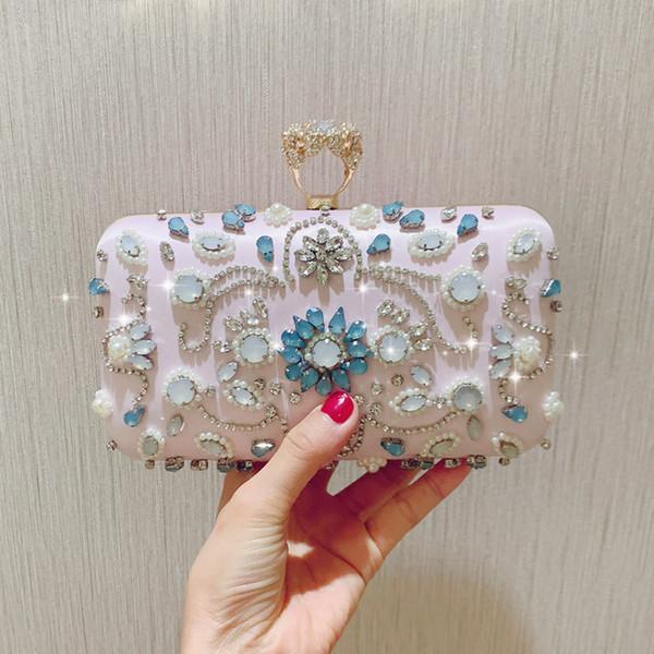 pouch messenger bag new girl handbag banquet bridesmaid handbag purse (524613865) photo