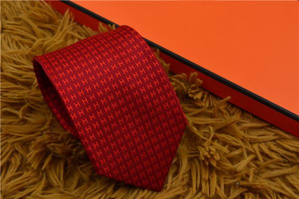 High grade 100 ilk yarn dyed jacquard tie men 039 hirt tie fa hion ilk tie with packaging box