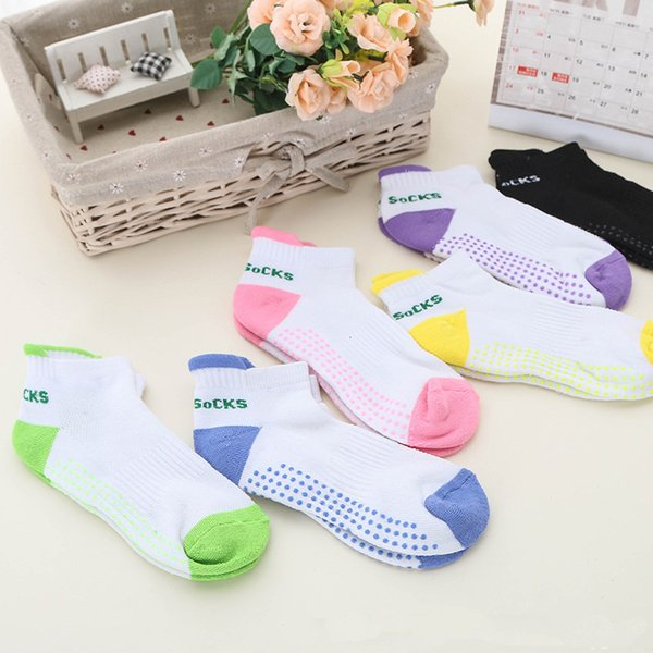 sell sock women soft anti-skid slipper non-slip cotton gripper gym socks cetines mujer