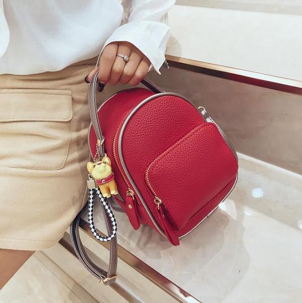 2020 designer luxury handbags purses mini backpack girl schoolbag fashion women shoulder bags student travel backpack (541099829) photo