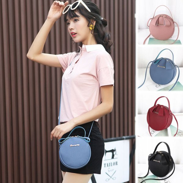 new style women round bags purse shoulder handbag tote messenger hobo satchel bag cross body handbag (520319808) photo
