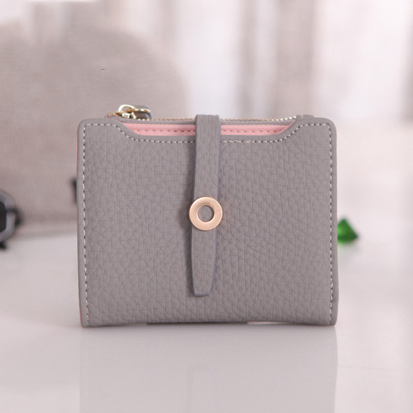women cute small wallet pu leather girls change clasp purse card holders coin purse ka-best (466238540) photo