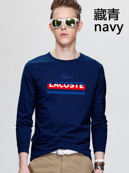 Новейшая мужская повседневная рубашка имеет европейский дизайнерский дизайн. фото