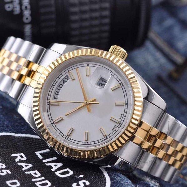 Роскошные наручные часы Datejust ремешок из нержавеющей стали кварцевые 36 мм мужские фото