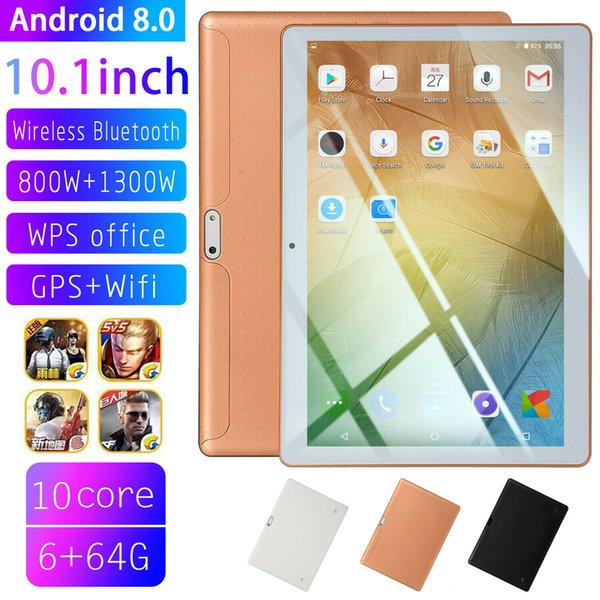 10 1 quot tablet pc 4g 64g android 8 0 octa core dual im camera wifi phone phablet
