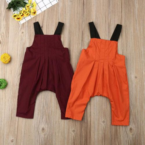 fashion newborn toddler baby bibs girls summer strap romper jumpsuit playsuit outfits summer solid clothes