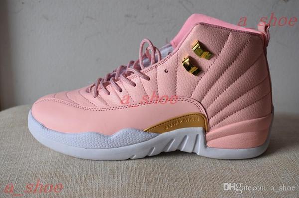 Женская 12 розовая обувь с лимонадом 12 GS Розовая лимонадная повседневная обувь 5-8,5