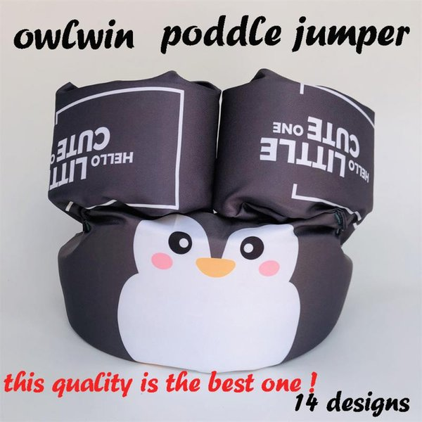 owlwin puddle jumper baby arm rings child jacket jacket children boys swimwear foam swim rings girl swimming pool water