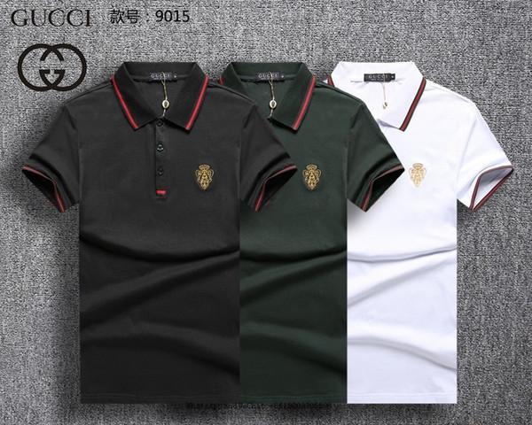 Summer wear leeve t hirt for polo hirt men korean male round neck pure cotton hort t man t pity men 039 clothing0228