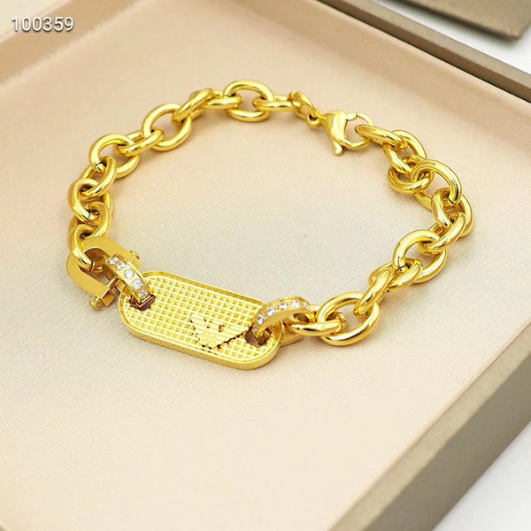 Luxury designer jewelry men bracelets stainless steel jewelry gold bracelet cuban link bracelet bangle titanium steel fashion bracelets 2020 фото