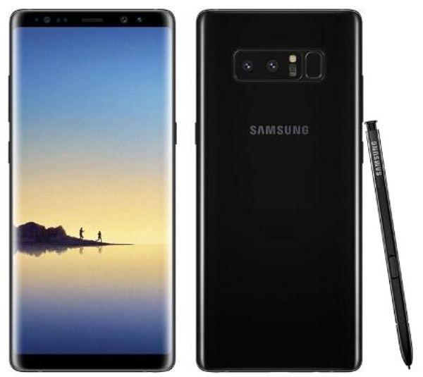 Original  am ung galaxy note 8 n950f 4g lte mobile phone 6gb 64gb dual rear 12 0mp 6 3inch  napdragon 835 fingerprint refurbi hed phone