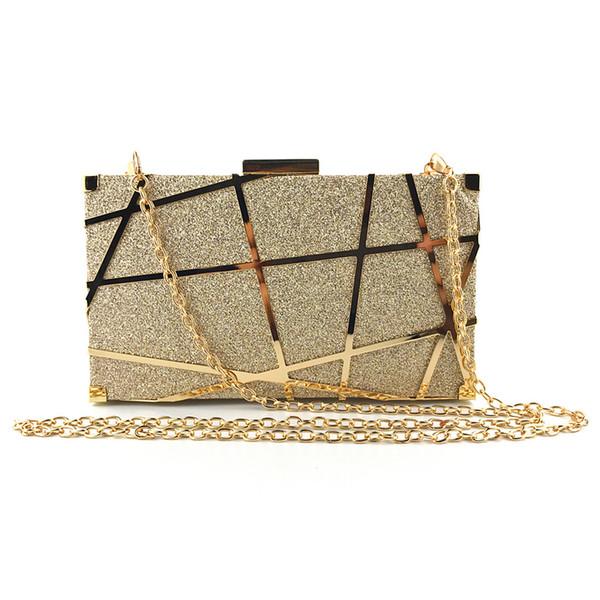 Мода блесток женщин клатч женский конверт сумка клатч вечерняя женская цепочка So фото