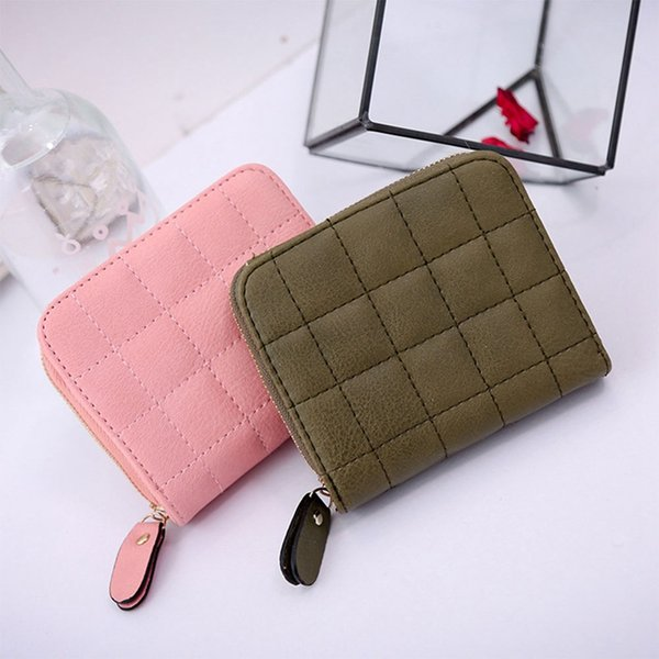 girl short wallet 2018 exquisite student purse short wallet cute design with zipper embroidered (480493274) photo