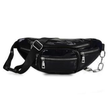2020 new fashion crossbody bag laser shoulder bags wholesale handbags purses wholesale women waist bag pu (546346206) photo