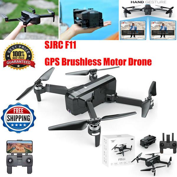 2019 new  jrc f11 gp  folding 5g wifi rc quadcopter bru hle   1080p fpv camera drone lot