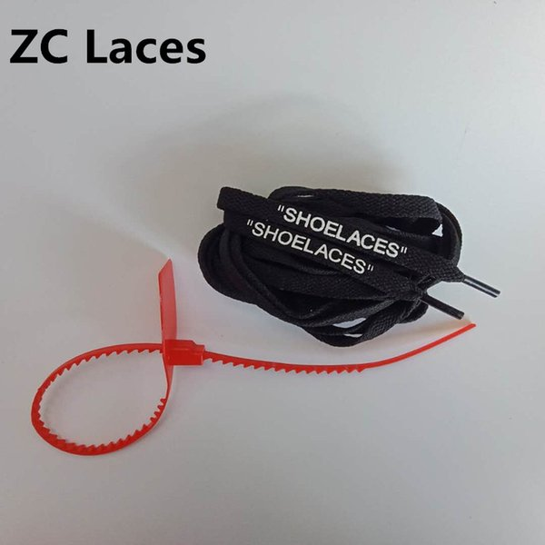 Flat 4 Sides Printed in Silicone Shoelaces Support custom Colours Shoe Laces With Red Zip Ties For Sport Shoes Cheap Shoestrings in 137cm