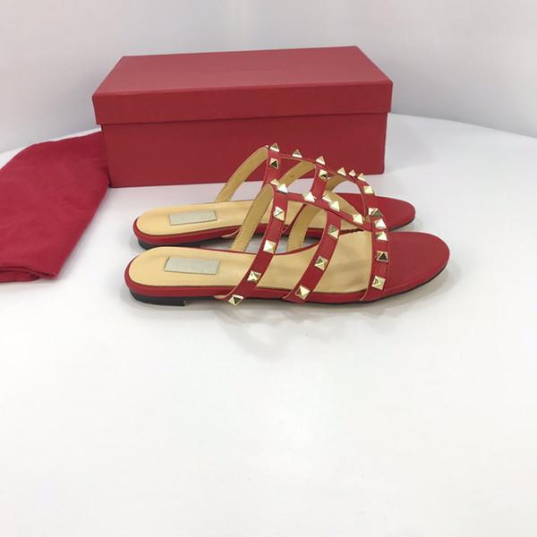 резиновые mkDesigner мужчины и женщины сандалии дизайнерская обувь топ слайд летняя мода широкие плоские скользкие сандалии тапочки флип-флоп yz19012507